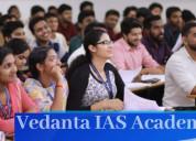 Vedanta ias academy in delhi