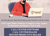 Callcenter dialer  and hosted predictive dialer