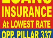 Loans & insurance