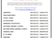 Best agents for marriage certificate