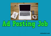 Online ad posting jobs rs.15000/- per month
