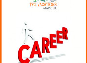 Online marketing in tourism company-hiring fresher