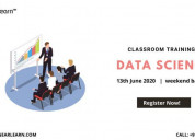 Data science classroom training in bangalore
