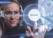 Virtual events - virtual meetings platforms india
