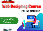 Web design online training in hyderabad with live