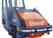 Hire our truck mounted or ride on sweeping machine