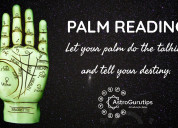 Get all benefits from our palm readers at astrogur