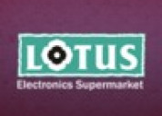 Best home appliances store in indore - lotus
