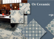 New rangoli tiles manufacturer & dealers orceramic