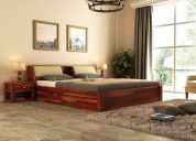 Check out the collection of wooden beds online