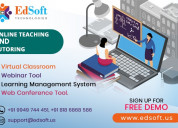 Best - virtual classroom platform edsoft