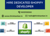 Hire shopify developer from thinktanker - top shop