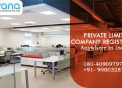 Pvt ltd company registration