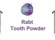 Tooth powder            j