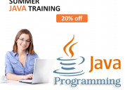Online java training