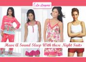 Choose the ultimate comfortable nightwear