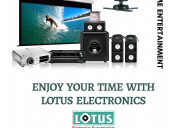 Latest home theatre in indore - lotus electronics
