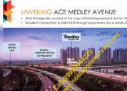 Ace medley avenue noida,  ace medley avenue retail