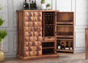 Order solid wood bar cabinet online at low price