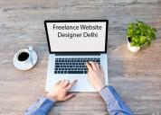Freelance website designer delhi