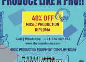 music production course| sound atom academy noida