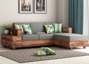 Amazing collection of l shape sofa online in india
