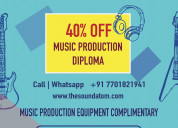music production course| sound atom academy, noida