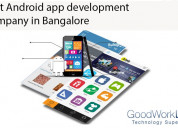Android app development services in bangalore