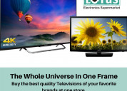 Buy led tv online in your set budget  - lotus elec