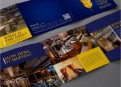 Your brochure design different apart