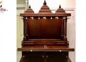 Get wooden temple