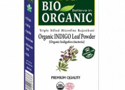 Indus valley bio organic indigo powder hair colour