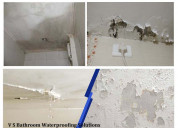 Waterproofing of bathrooms and toilets
