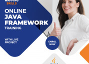 Online java framework training