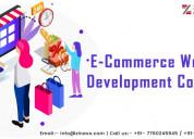 Ecommerce website development services zinavo