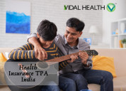 Health insurance tpa india