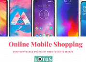 Online mobile shopping - lotus electronics