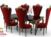 Beautiful designs of royal dining table