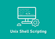 Unix shell scripting training online