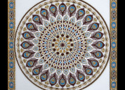 Digital imported ceramic rangoli tiles wholesaler