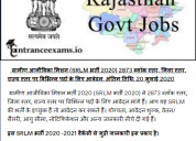 Rural livelihood mission (srlm recruitment 2020)