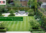Landscape design services in lahore, islamabad
