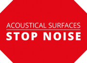 Acoustic ceiling panels | sound absorbing ceiling