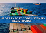 Import export code registration – global mode