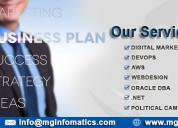 Mg infomatics  software development  in hyderabad