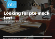 Looking for pte mock test