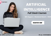 Artificial intelligence full stack course