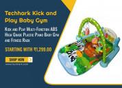 Techhark kick and play baby gym