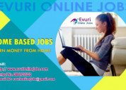 Home based form filling jobs / copy paste jobs