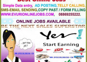 Best home based part time online data entry jobs